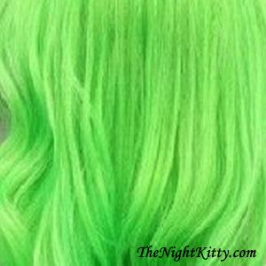 Lime Green Hair Dye - The Night Kitty