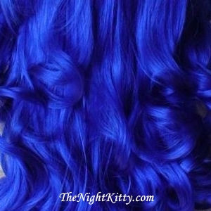 Blue Hair Dye - The Night Kitty