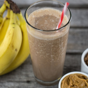 Chocolate, Nut Butter, Banana, Protein Smoothie