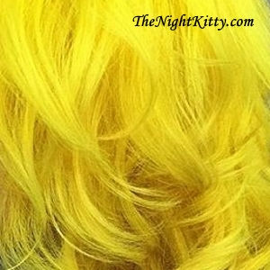 Yellow Hair Dye - The Night Kitty