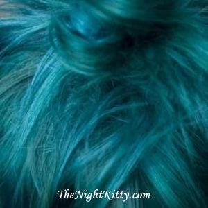 Turquoise Hair Dye - The Night Kitty