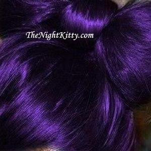 Purple Hair Dye - The Night Kitty