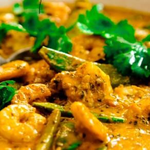 Chicken, Prawn, Coconut Curry