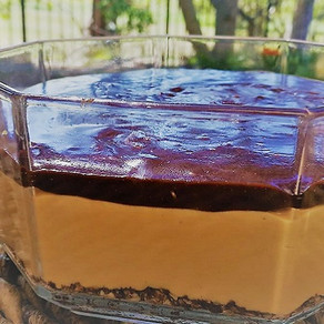 Caramel Cappuccino Nutella Cheese Cake