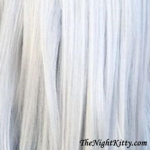 Silver Ice Hair Dye - The Night Kitty