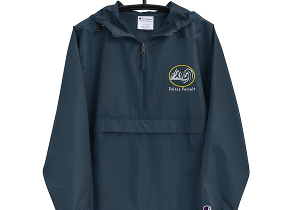 Embroidered Champion Packable Jacket copy