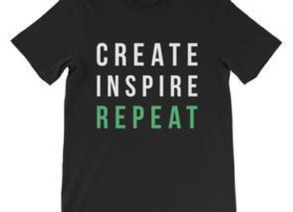 Create Inspire Repeat Tee - MDLYST