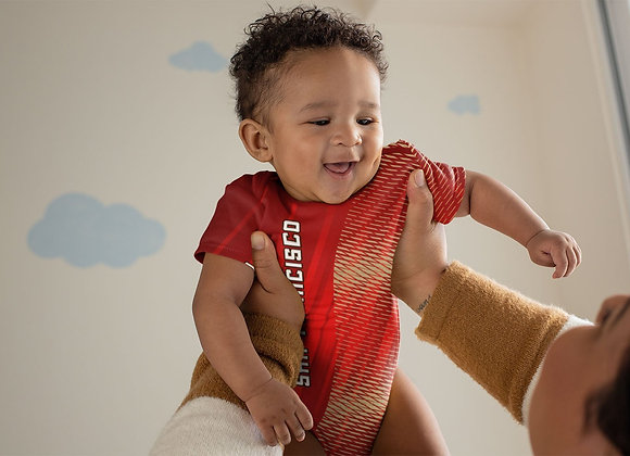 San Francisco Football Onesie