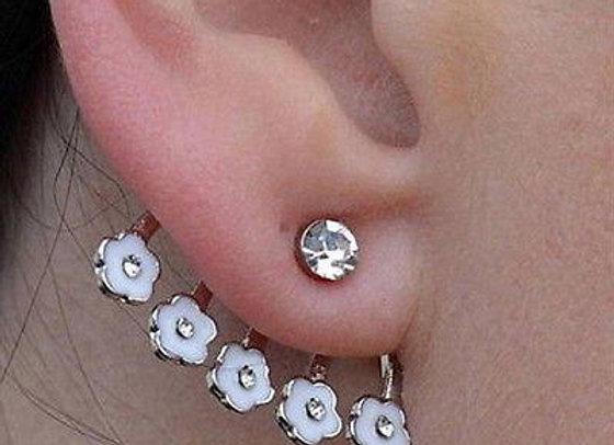 Flower Ear Cuff Earring
