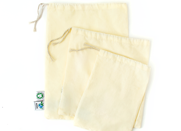 Cotton Muslin Produce Bag