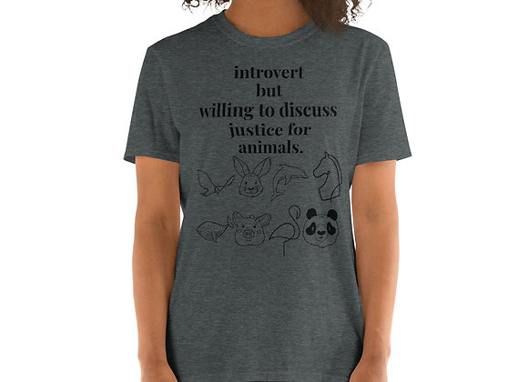 Animal Justice - T-Shirt - PX Collection