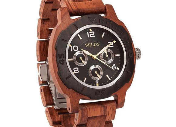 Multi-Function Wooden Watch