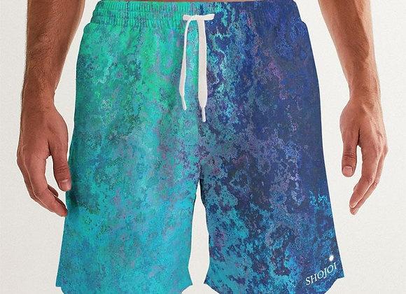 Water Colors Men's Swim Trunk