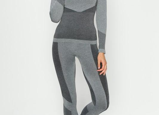 Space Dye Long Sleeve and Legging Set