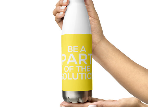 The Solution Stainless Steel Water Bottle