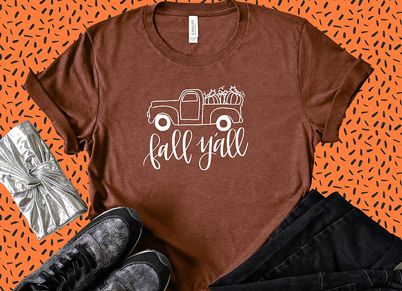Happy Fall Y'all Truck Tee