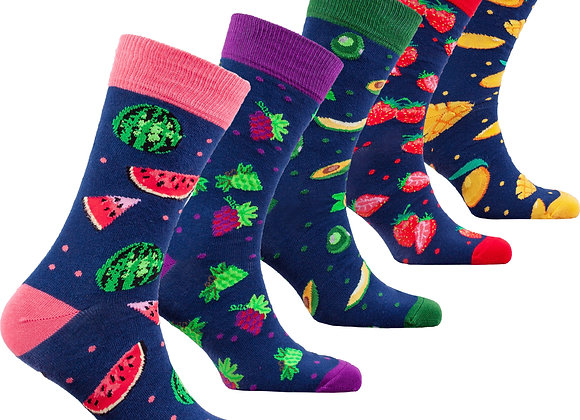Men's Fresh Fruits Socks