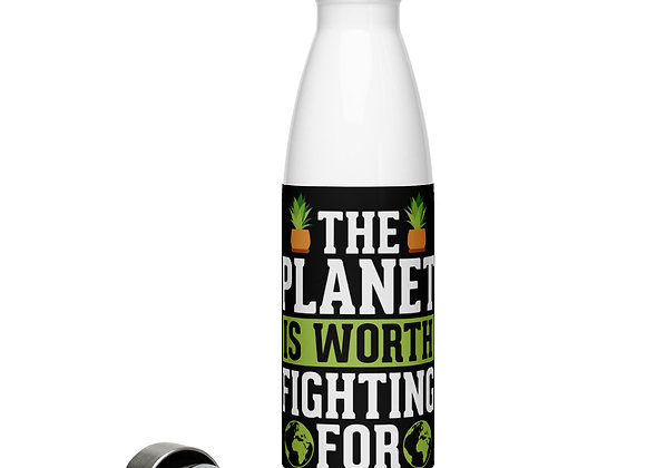 Fighting For Stainless Steel Water Bottle