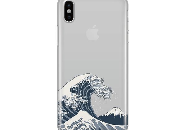 Wave - Clear TPU Case Cover