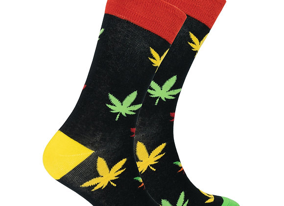 Men's Colorful Bud Socks