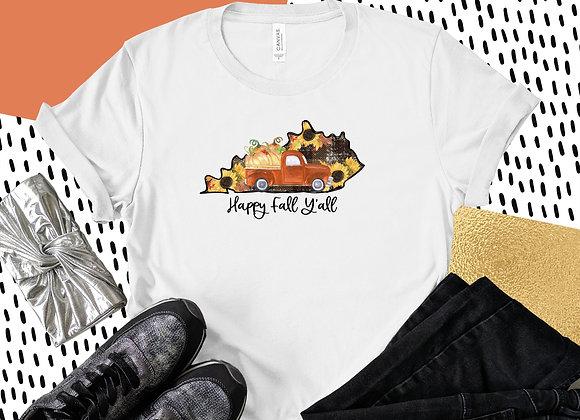 Happy Fall Kentucky Tee