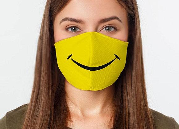 Smiley Face Preventative Face Mask
