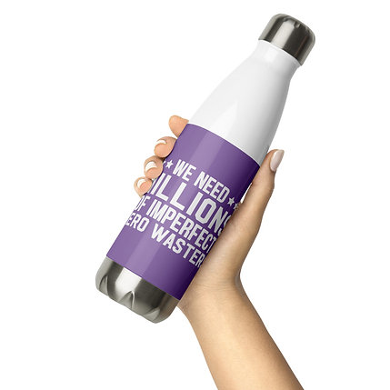 Imperfect Stainless Steel Water Bottle