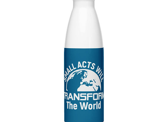 Small Acts Stainless Steel Water Bottle