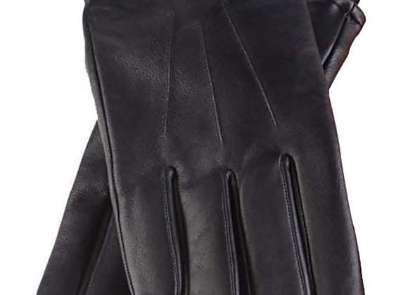 Mens Fleece Lined Thermal Leather Gloves