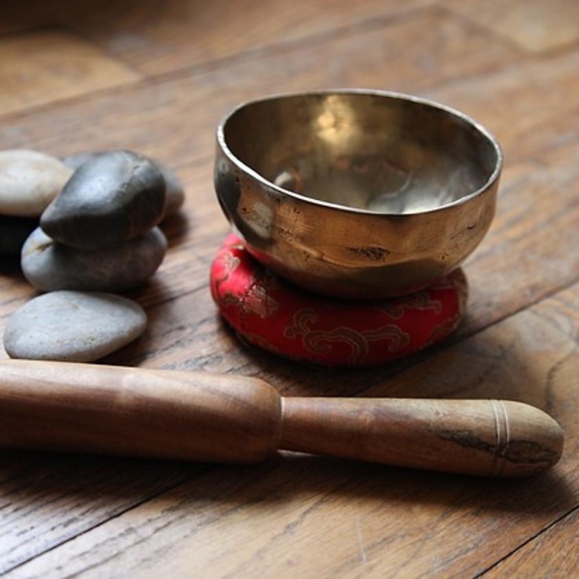 MEDITACIÓN GUIADA CON CUENCOS TIBETANOS