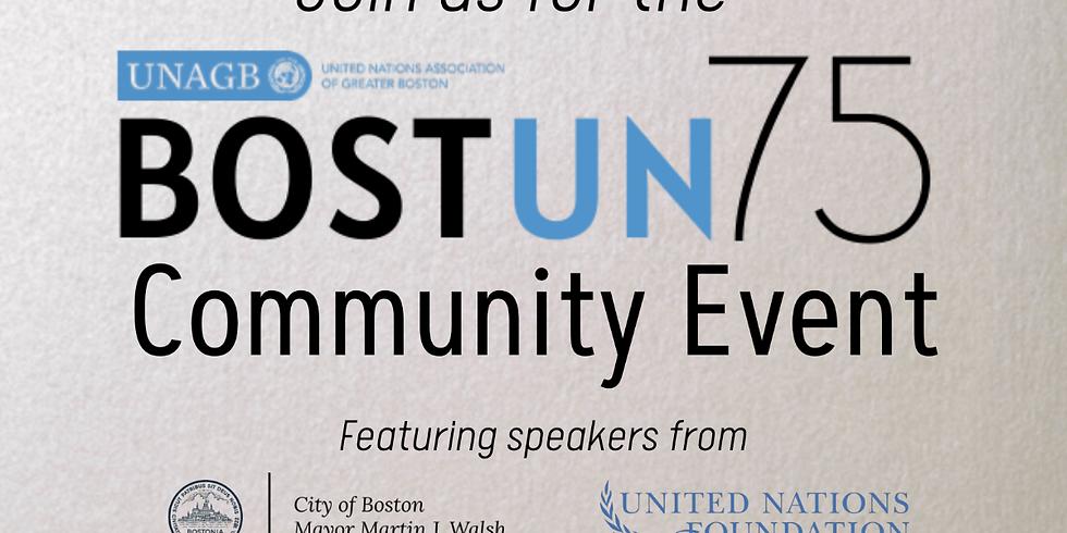 The BOSTUN75 Community Event