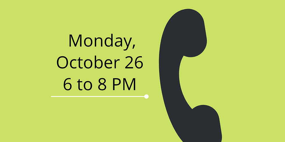 MassVOTE Phone Bank for General Election