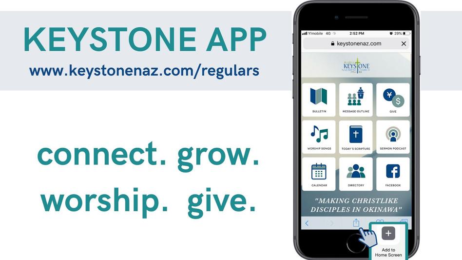Keystone App