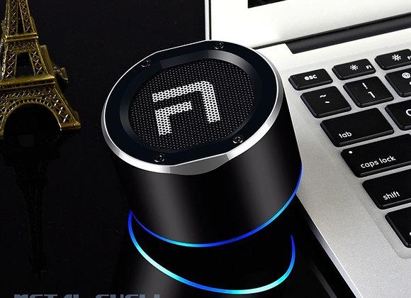 High-Quality LED Subwoofer Metal Bluetooth(4.1) Speaker