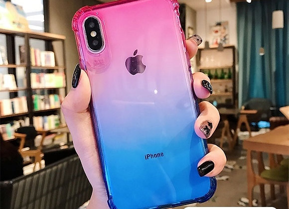 Gradient phone cases for iPhone Xs