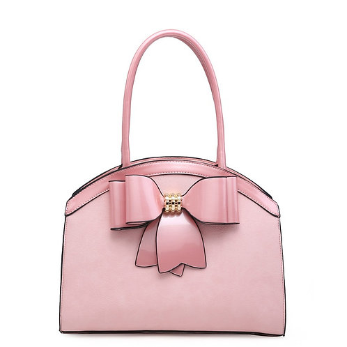 Diva Bow Arch Pink Tote