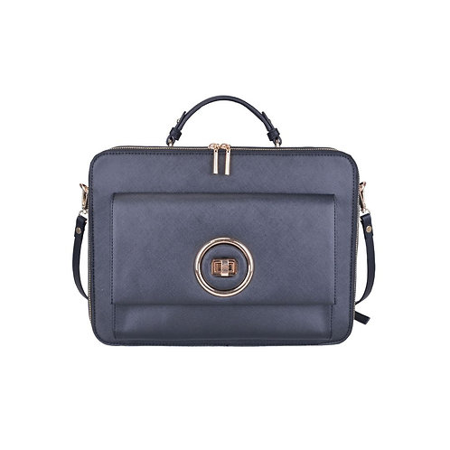 Lady Boss Black Briefcase