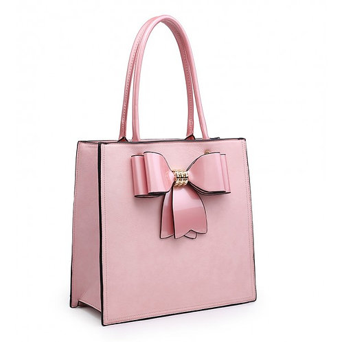 Diva Pink Bow Tote