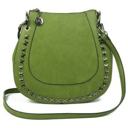 Superbia Green Crossbody Bag