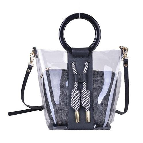 Lady Boss 2in1 Perspex Shoulder Bag