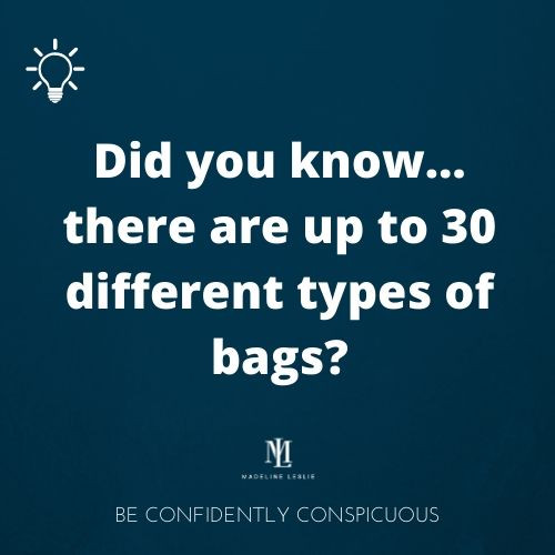 Up to 30 bag types