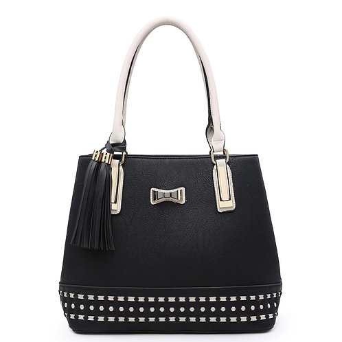 Moda T Black Shoulder Bag