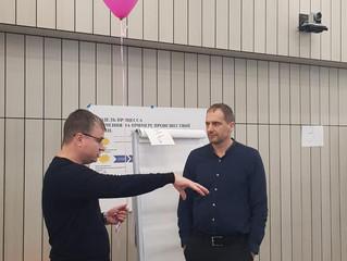 «Тренинг для тренеров» и программа «Сердца и умы» для ПАО «Газпром-Нефть» октябрь-декабрь 2019