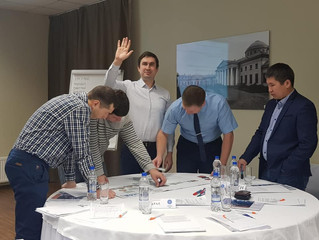 Открываем новые форматы в обучении. Деловая игра «Код безопасности». «Газпром. Нефть» Октябрь 2019