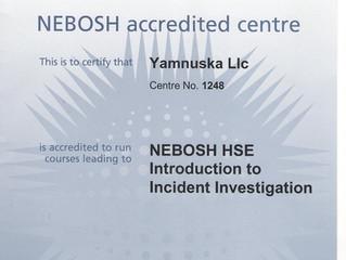 """Новая аккредитация NEBOSH по курсу """"Анализ корневых причин и расследование происшествий"""""""