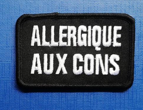 ALLERGIQUE AUX CONS