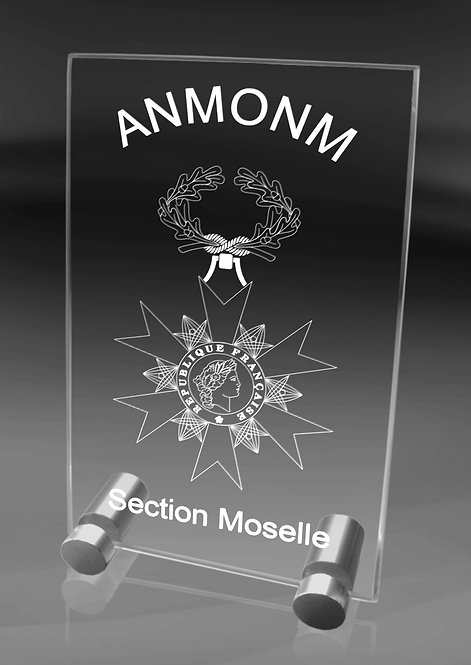 Plaque ANMONM (GM)