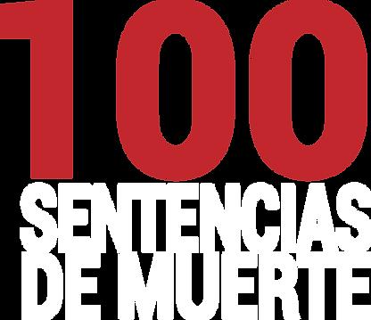 logo 100 sentencias de muerte blanco.png