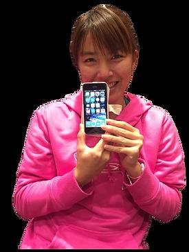 夜iPhone画面割れ修理