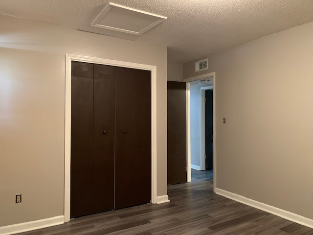 Unit F Master Bedroom